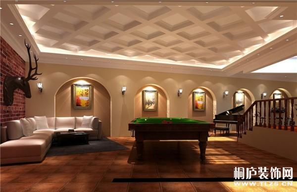 36万打造420平欧式独栋别墅