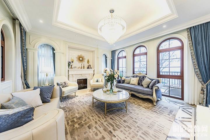 大奇山郡400方欧式古典风格舒适居家
